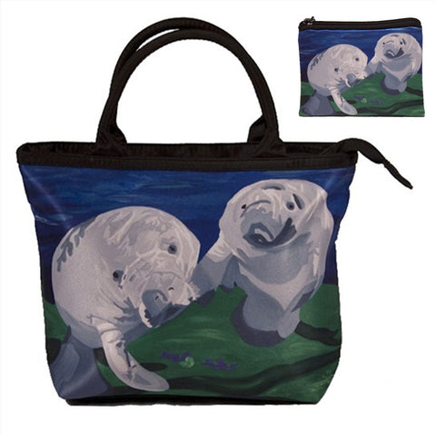 matching manatee purse and change purse