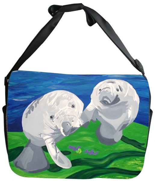 Manatee Canvas Safari Style Messenger Bag - Tanio Curiosity