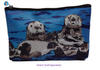 Sea Otter Cosmetic Bag- Best Friends