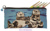 Sea Otter Kitten Pencil Bag- Best Friends