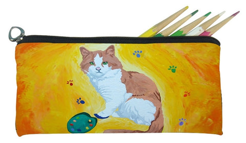 cat pencil bag