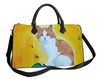 cat vegan leather bag