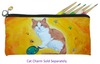 Cat Kitten Pencil Bag - Paw in the Paint