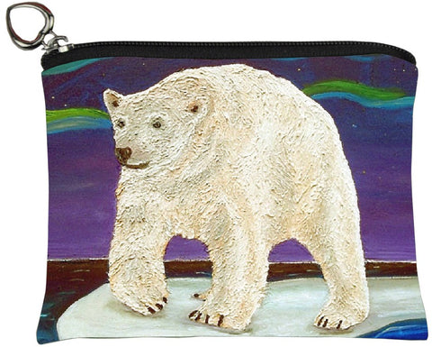 polar bear change purse