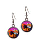 Red Panda Earrings- Shy Beauty