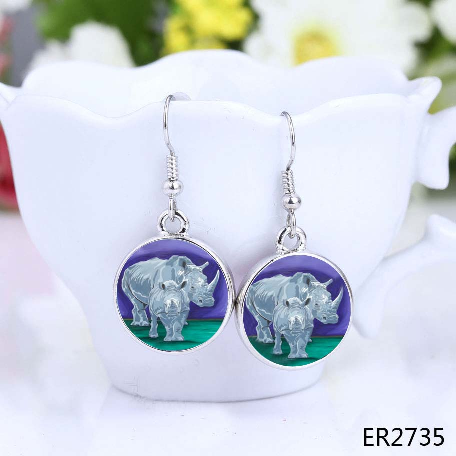 Rhino Earrings - Stalwart Linage