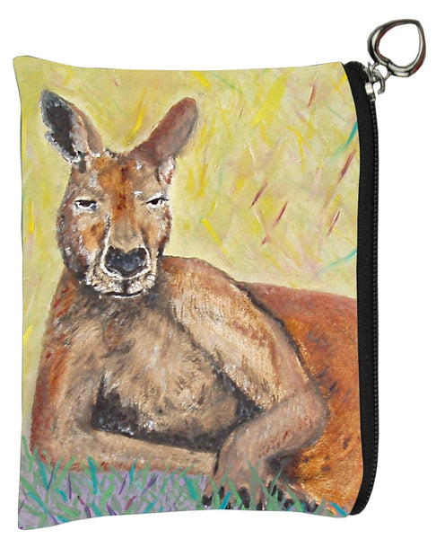 Kangaroo coin purse