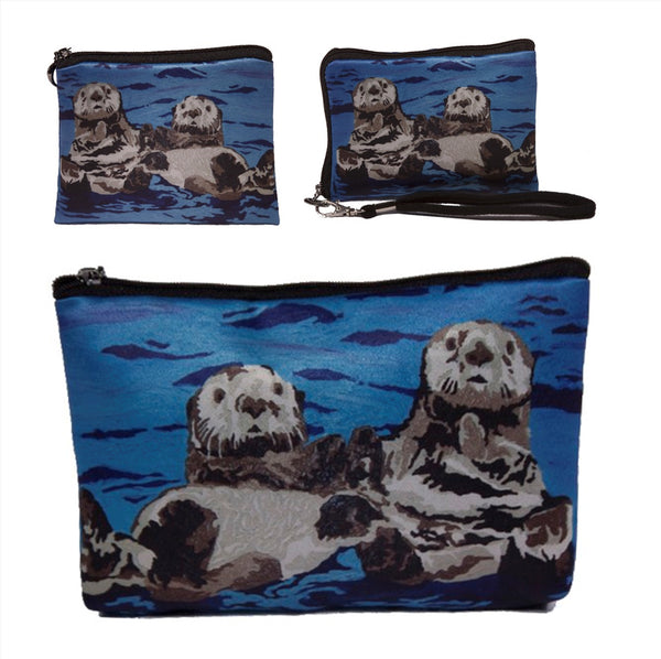 Sea Otter Three Piece Set- Best Friends