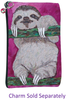 Sloth Cosmetic Bag- Leisurely Life