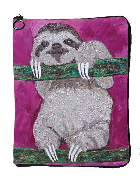 Sloth Cat Case - Leisurely Life