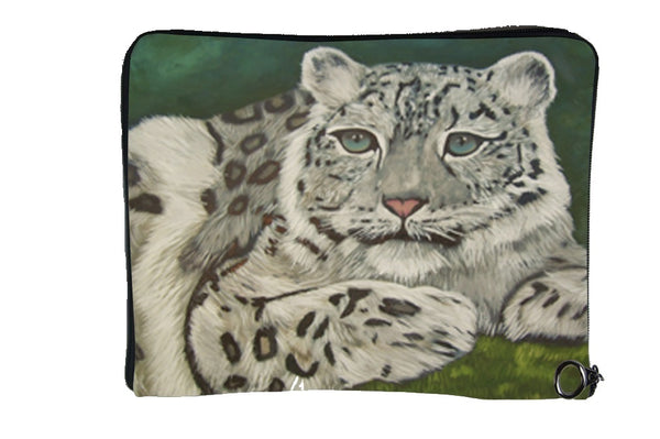 Snow Leopard Cat Case - Highland Veil