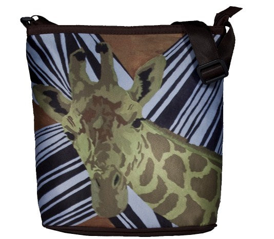 Animal Print Cross Body bag
