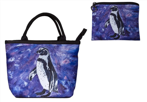 penguin purse and matching wallet