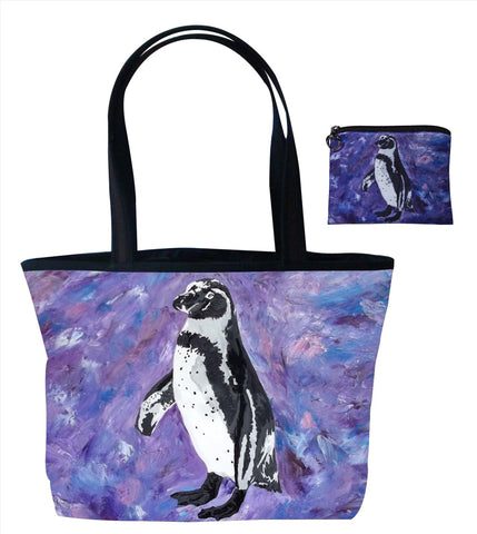 penguin matching bag set