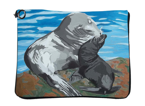 Sea Lion Cat Case - Treasure