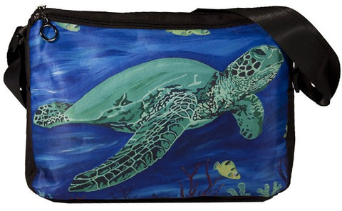 Sea Turte Phat Cat Messenger Bag - Wisdom