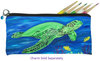 Sea Turtle Kitten Pencil Bag - Wisdom