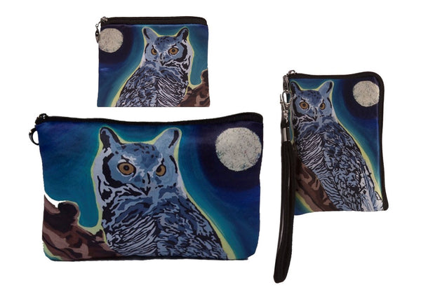 Great Horned Owl Three Piece Set- The Wise One