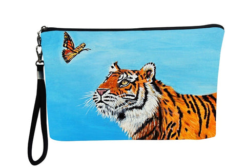 tiger wristlet with charm