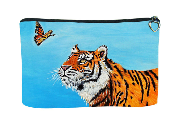 tiger make-up bag