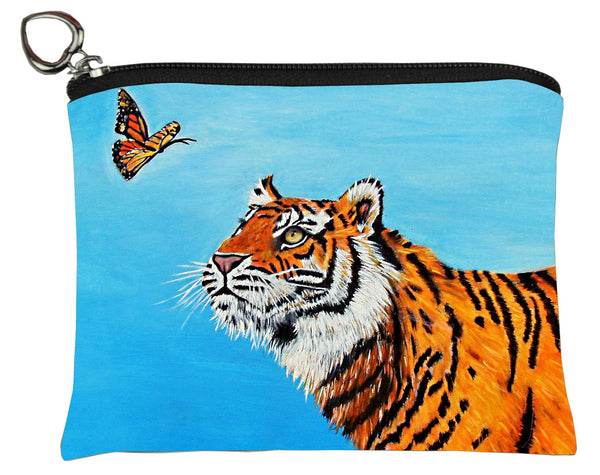 tiger change purse