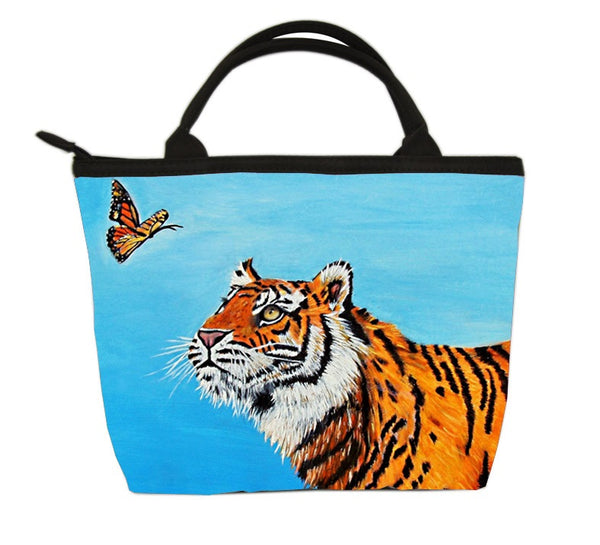 tiger purse monarch butterfly