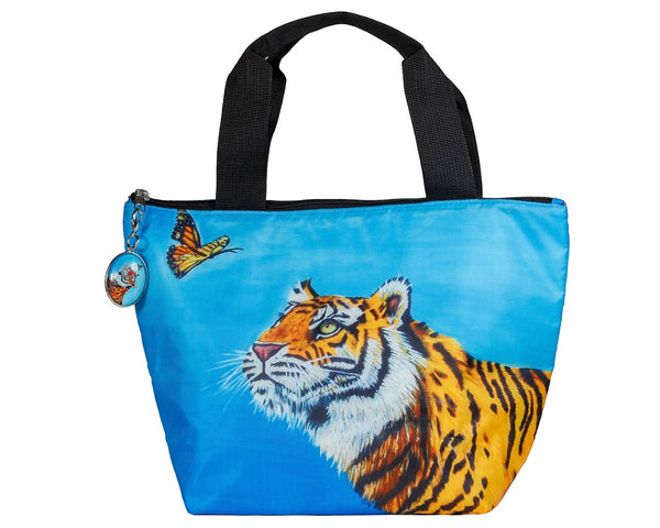 tiger reusable lunch bag