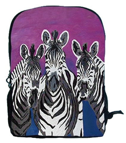 Zebra Backpack - Family