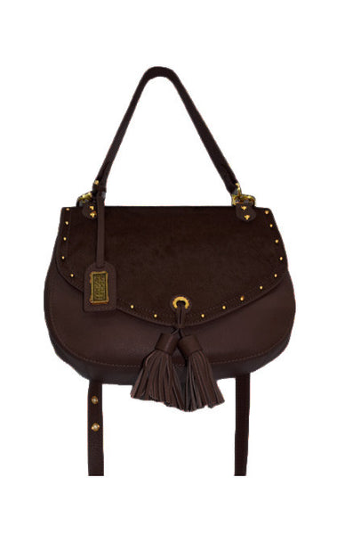 Haircalf Tassle Crossbody Bag