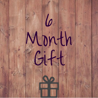 6 Month Prepaid Gift Subscription