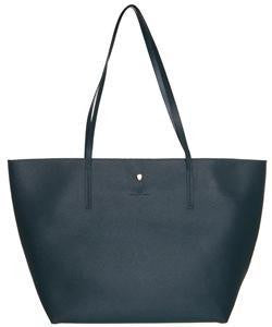 Broad Tonal Tote Bag In Green