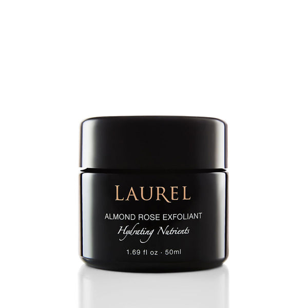 Laurel Skin Almond Rose Exfoliant Hydrating Nutrients