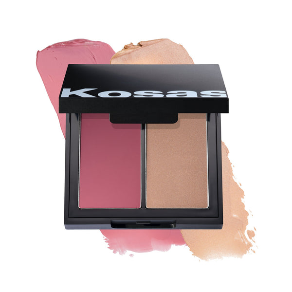 Kosås Color & Light Palette Cream Blush - VERT beauty KosåsMakeup