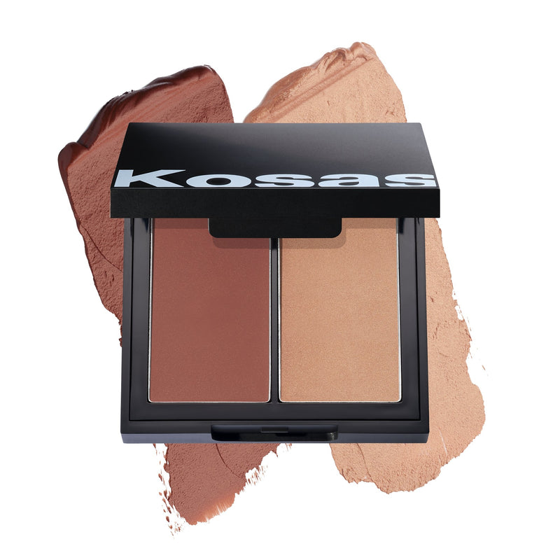 Kosås Color & Light Palette High Intensity Blush - VERT beauty KosåsMakeup