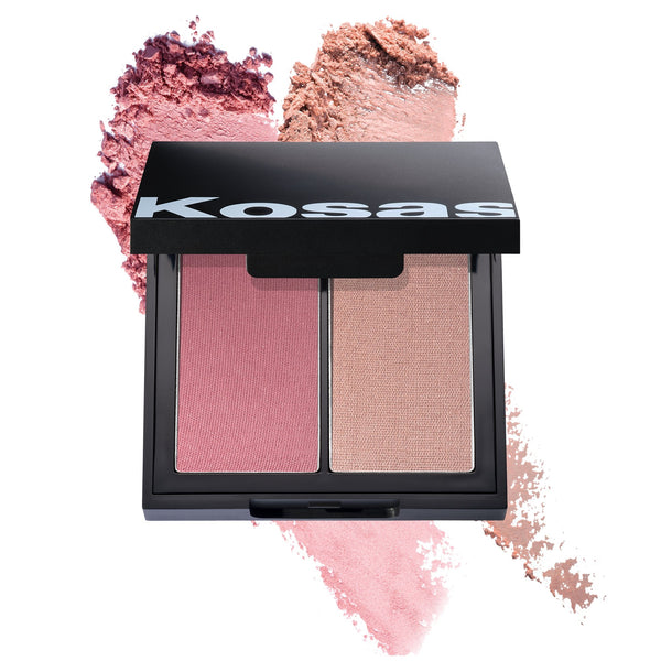 Kosås Pressed Powder Blush High Intensity - VERT beauty KosåsMakeup