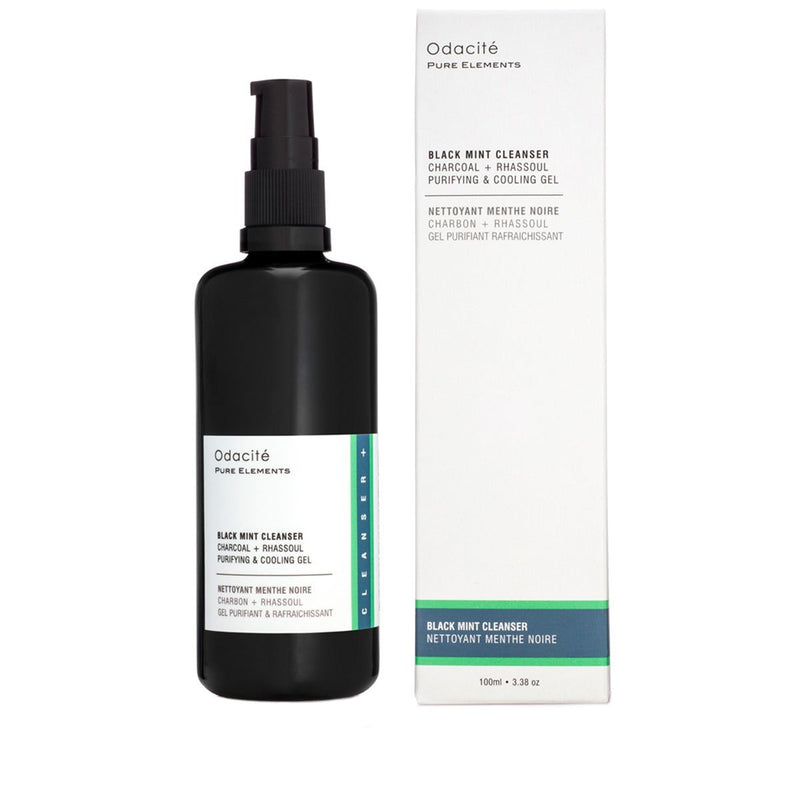 Odacite Black Mint Cleanser Purifying & Cooling Gel - VERT beautyOdaciteSkincare