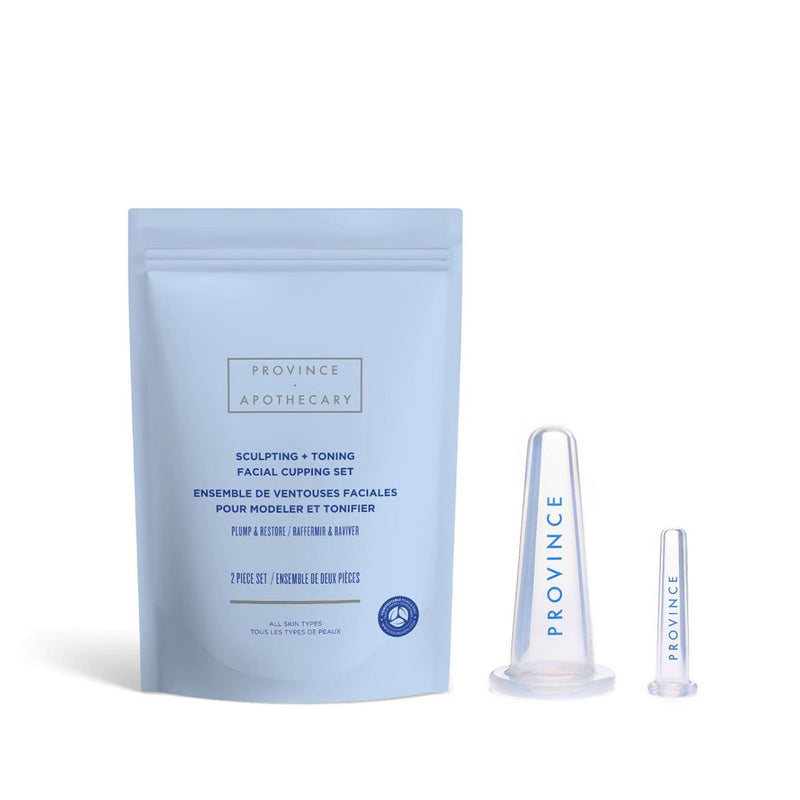 Sculpting + Toning Facial Cupping Set - Vert BeautyProvince ApothecarySkincare