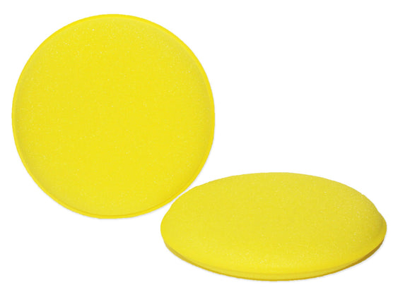Yellow Round Foam Applicator Pad 4