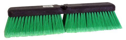 "14"" Truck Brush W/Green FI"