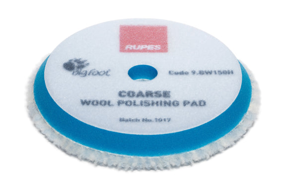 RUPES Blue Coarse Wool Pad 150mm 5
