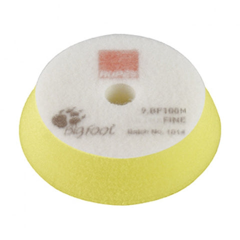 RUPES Fine Yellow Pad 100 mm/3-4""