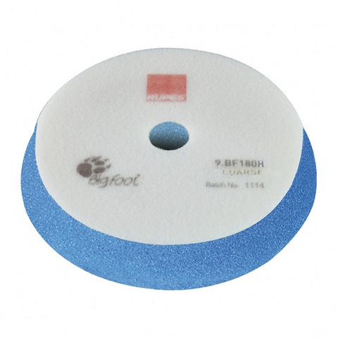 RUPES Coarse Blue Foam Pad 180mm/6-7""