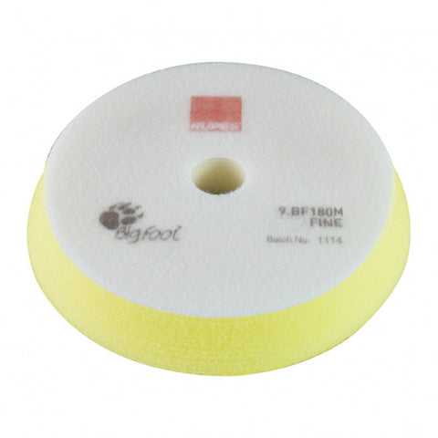 RUPES Fine Yellow Foam Pad 180mm/6-7""