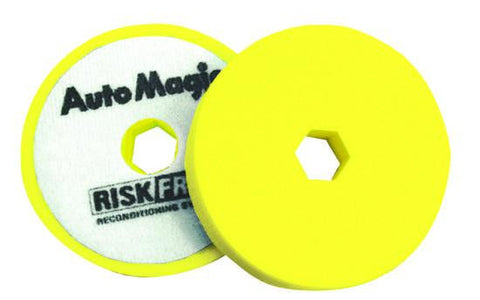Auto Magic Risk Free Polishing™ Pad (Yellow)