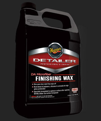 Meguiar's D301 DA Microfiber Finishing Wax