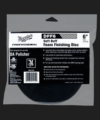 Meguiar's Soft Buff Foam Finishing Disc 6