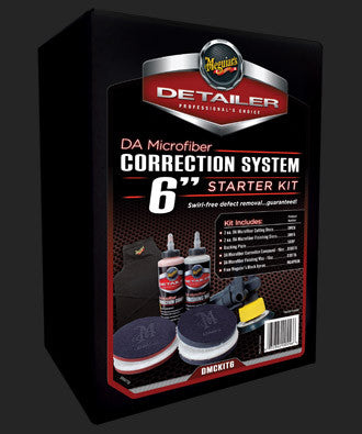 Meguiar's DA Microfiber Correction System Kit 6
