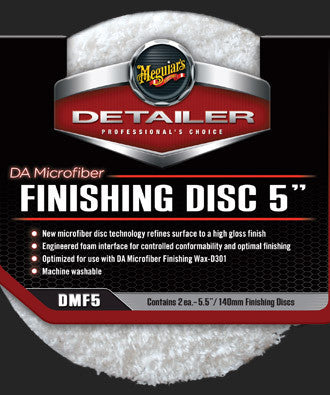 Meguiar's DA Microfiber Finishing Disc 5 (2-pack)