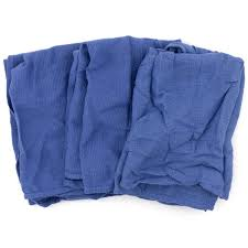 Blue Huck Towels - Brick 8 Lbs