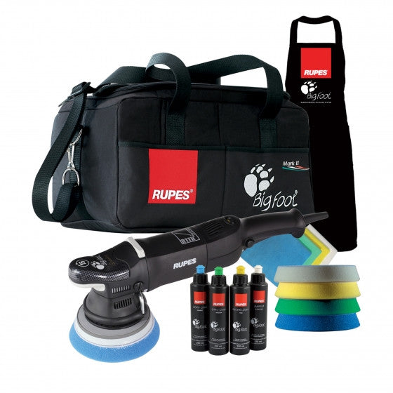 RUPES BigFoot LHR15/III Mark III Random Orbital Polisher Deluxe Kit